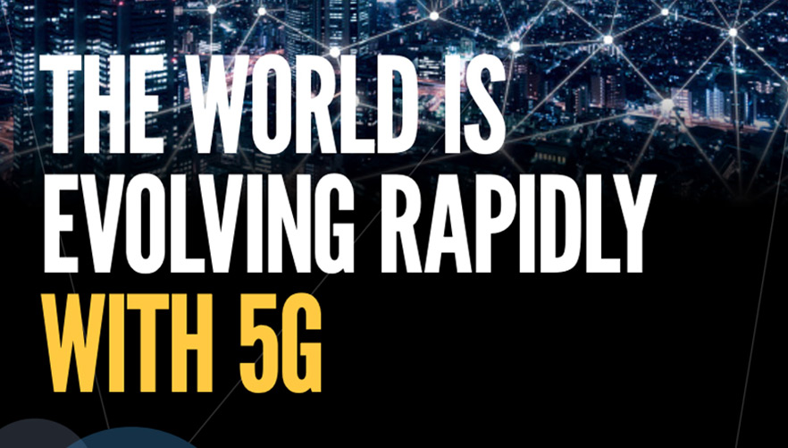 The World Is Evolving Rapidly with 5G
